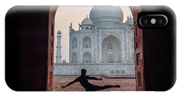 Dancer At The Taj IPhone Case