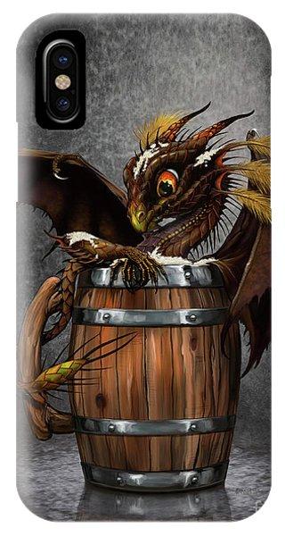 Dark Beer Dragon IPhone Case