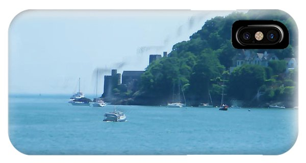 Dartmouth Castle Painting IPhone Case