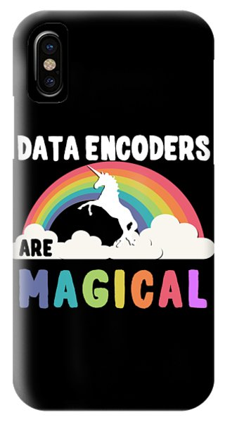 Data Encoders Are Magical IPhone Case