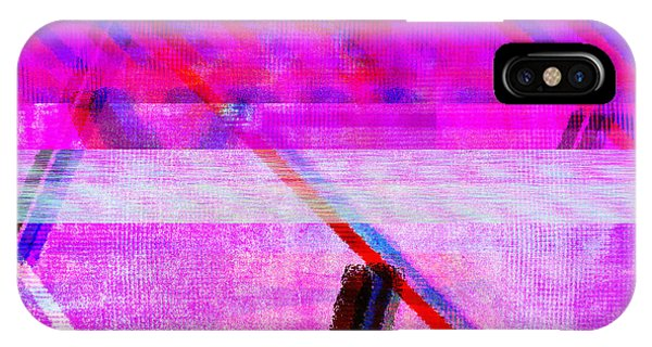 IPhone Case featuring the digital art Databending #1 by Bee-Bee Deigner