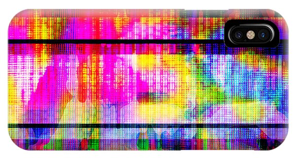 Databending #2 Hidden Messages IPhone Case