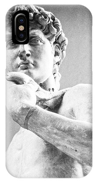 David Of Michelangelo IPhone Case