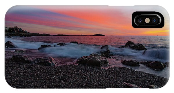 Dawn At Castle Rock On Marblehead Neck IPhone Case
