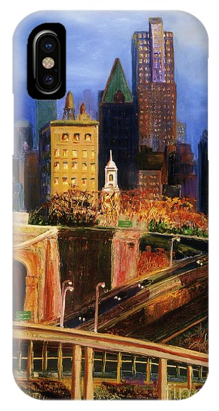 Dawn At City Hall IPhone Case
