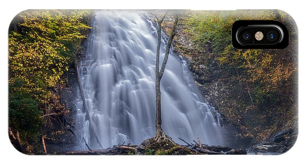 Dawn At Crabtree Falls IPhone Case