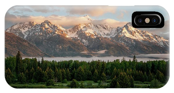 Rocky Mountain Np iPhone Case - Dawn At Grand Teton National Park by Brian Harig