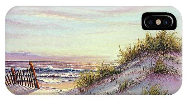 Dawn At The Beach IPhone Case