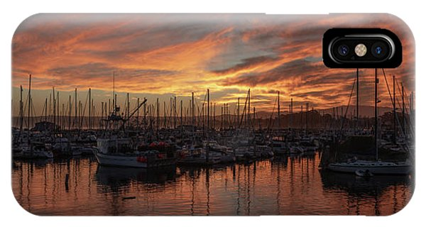 Monterey iPhone Case - Dawn Monterey Bay California by Steve Gadomski