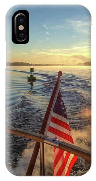 IPhone Case featuring the photograph Dawn On The Sassafras River by Mark Duehmig