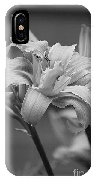 IPhone Case featuring the photograph Day Lily Yellow Filter by Jeni Gray