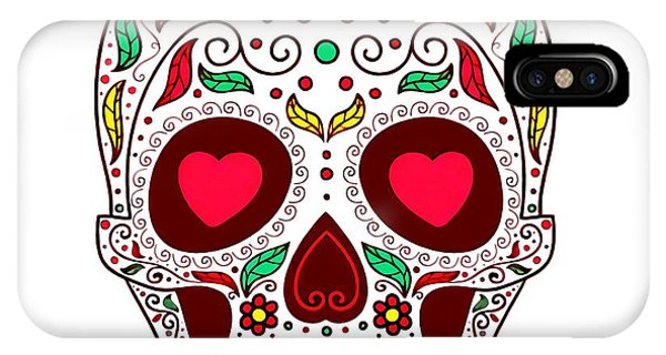 Katrina iPhone Case - Day Of The Dead by ArtMarketJapan