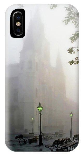 Daybreak In Jackson Square IPhone Case