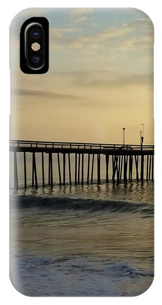 IPhone Case featuring the photograph Daybreak Over The Ocean 1 by Robert Banach