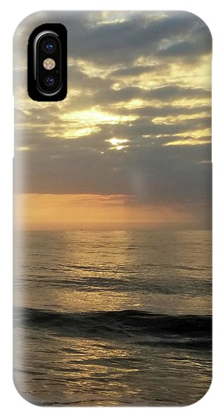 IPhone Case featuring the photograph Daybreak Over The Ocean 3 by Robert Banach