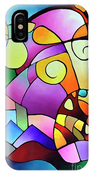Daydream Canvas Two IPhone Case