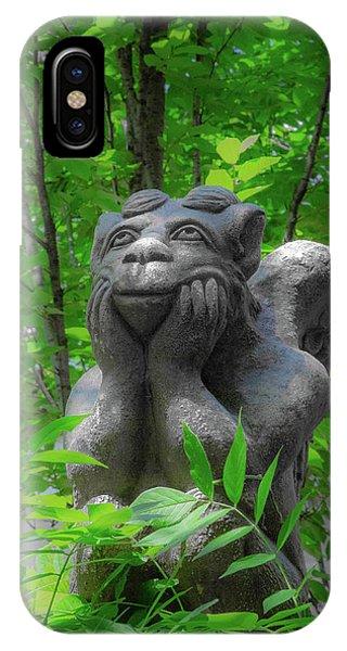Daydreaming Gargoyle IPhone Case