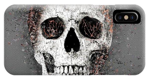 Katrina iPhone Case - Death Skull by ArtMarketJapan