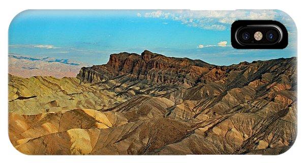 Rocky Mountain Landscape iPhone Case - Death Valley, Ca by Edd Lange