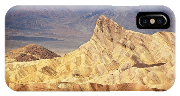 Manly iPhone Case - Death Valley National Park IIi by Ricky Barnard