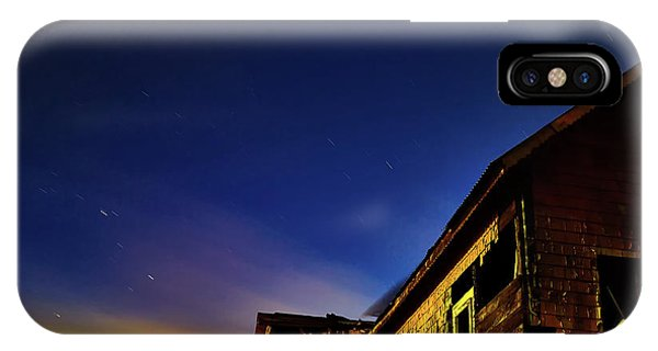 Decaying House In The Moonlight IPhone Case