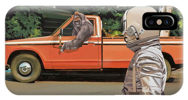 Truck iPhone X Case - Decline Of The Planet Of The Apes by Scott Listfield