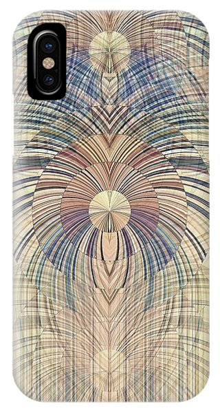 IPhone Case featuring the digital art Deco Wood by David Manlove