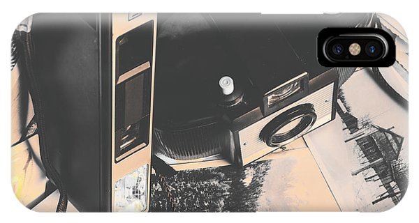 Vintage Camera iPhone Case - Decolourised  by Jorgo Photography - Wall Art Gallery