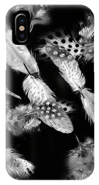 Plumes iPhone Case - Decorated In Black And White by Jorgo Photography - Wall Art Gallery
