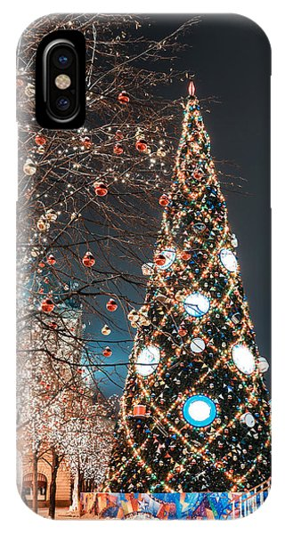 Culture iPhone Case - Decorations For New Year And Holidays by Mikhail Starodubov