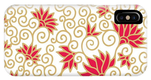 Decorative Floral Composition With Phone Case by Aniana