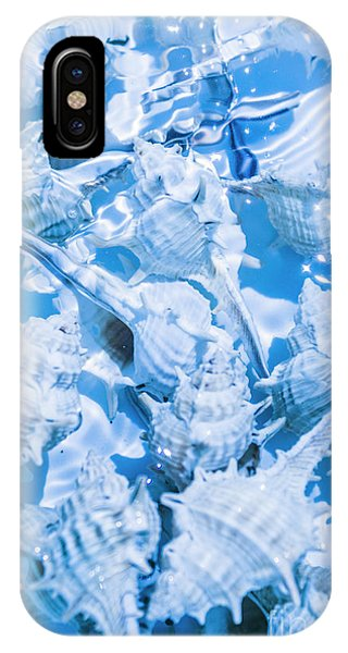 Under Water iPhone Case - Deep Blue by Jorgo Photography - Wall Art Gallery
