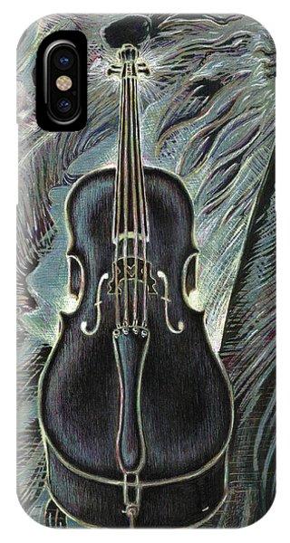 Deep Cello IPhone Case