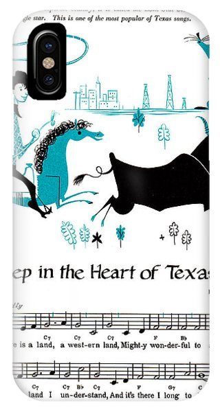 iPhone Case - Deep In The Heart Of Texas by Zal Latzkovich