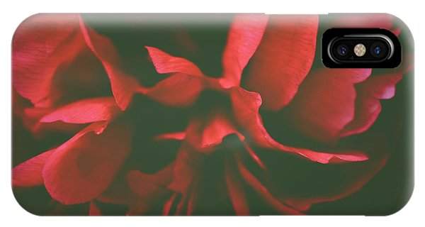 Deep Red IPhone Case