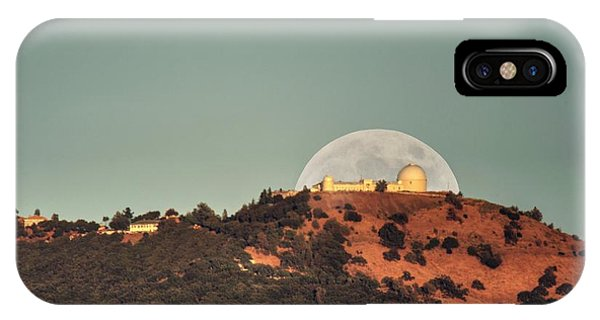 IPhone Case featuring the photograph Deflector Shield Over Lick Observatory by Quality HDR Photography