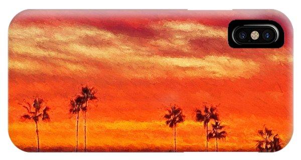 Del Mar Sunset IPhone Case