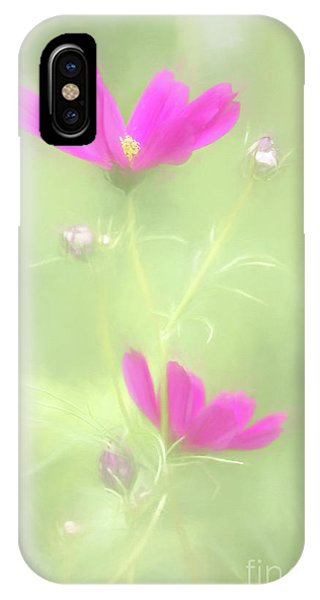 Delicate Painted Cosmos IPhone Case