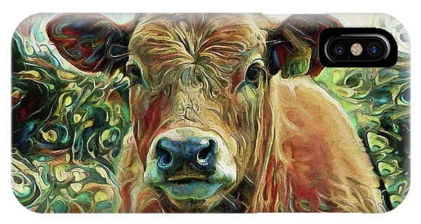 Delilah The Calf IPhone Case
