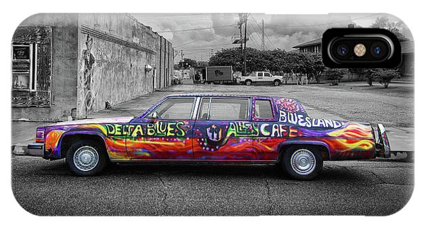 IPhone Case featuring the photograph Delta Blues Limo by Jim Mathis