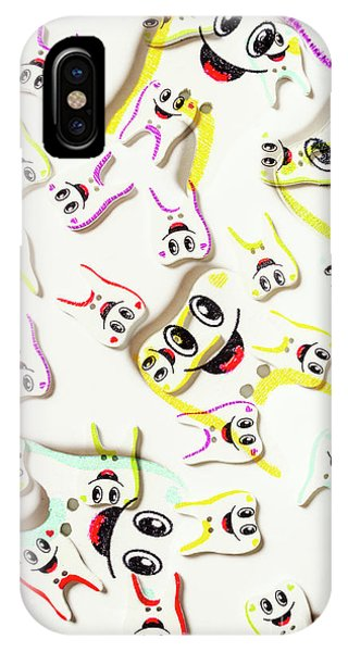 Cartoon iPhone Case - Dental Clinic Caricatures by Jorgo Photography - Wall Art Gallery
