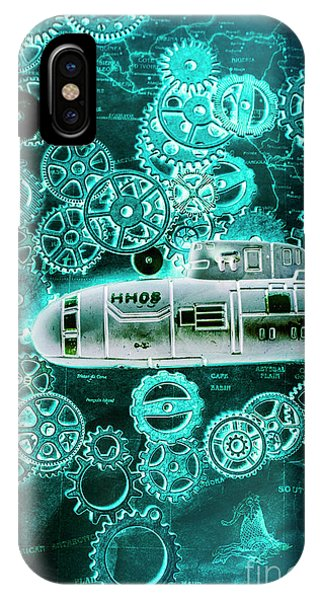 Navigation iPhone Case - Depth Charged by Jorgo Photography - Wall Art Gallery