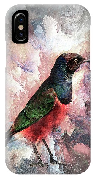Desaturated Starling IPhone Case