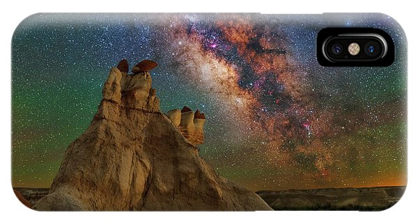 Desert Castle IPhone Case
