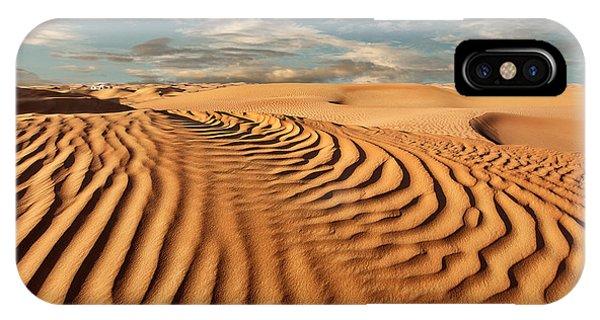 Heat iPhone Case - Desert Landscape by Olga Grinblat