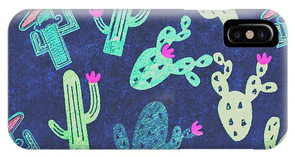 Garden Wall iPhone Case - Desert Nights by Jorgo Photography - Wall Art Gallery
