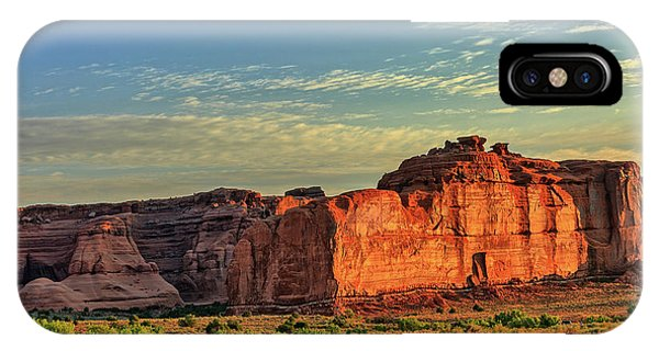 Desert Sunrise In Color IPhone Case
