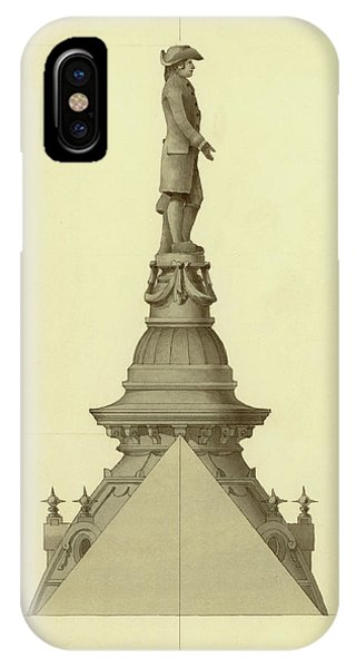Design For City Hall Tower IPhone Case