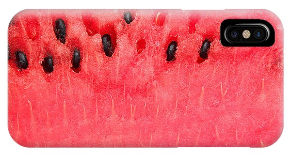 Ripe iPhone Case - Detailed Closeup Of Watermelon by Constantinosz