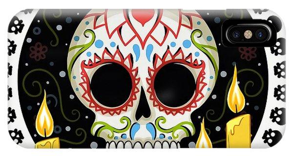 Katrina iPhone Case - Dia De Muertos by ArtMarketJapan